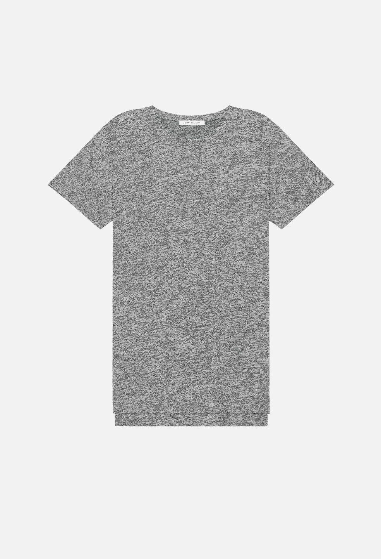 John Elliott Mercer T Shirt Tee Co Mix Grey Sz 1   S
