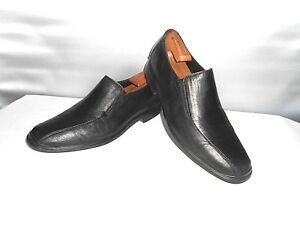 Men-039-s-Cole-Haan-Air-Black-Leather-Dress-Fashion-Loafers-Size-11-D