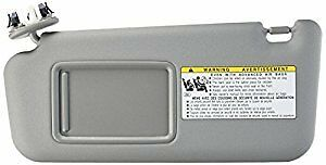 Details about GENUINE TOYOTA 06-09 RAV4 LH DRIVER GRAY SUN VISOR VINYL  7432042501B2 bcb086c77e7