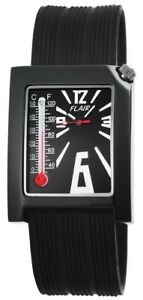 Flair-Herrenuhr-Schwarz-Analog-Silikon-Thermometer-Armbanduhr-X200871000011