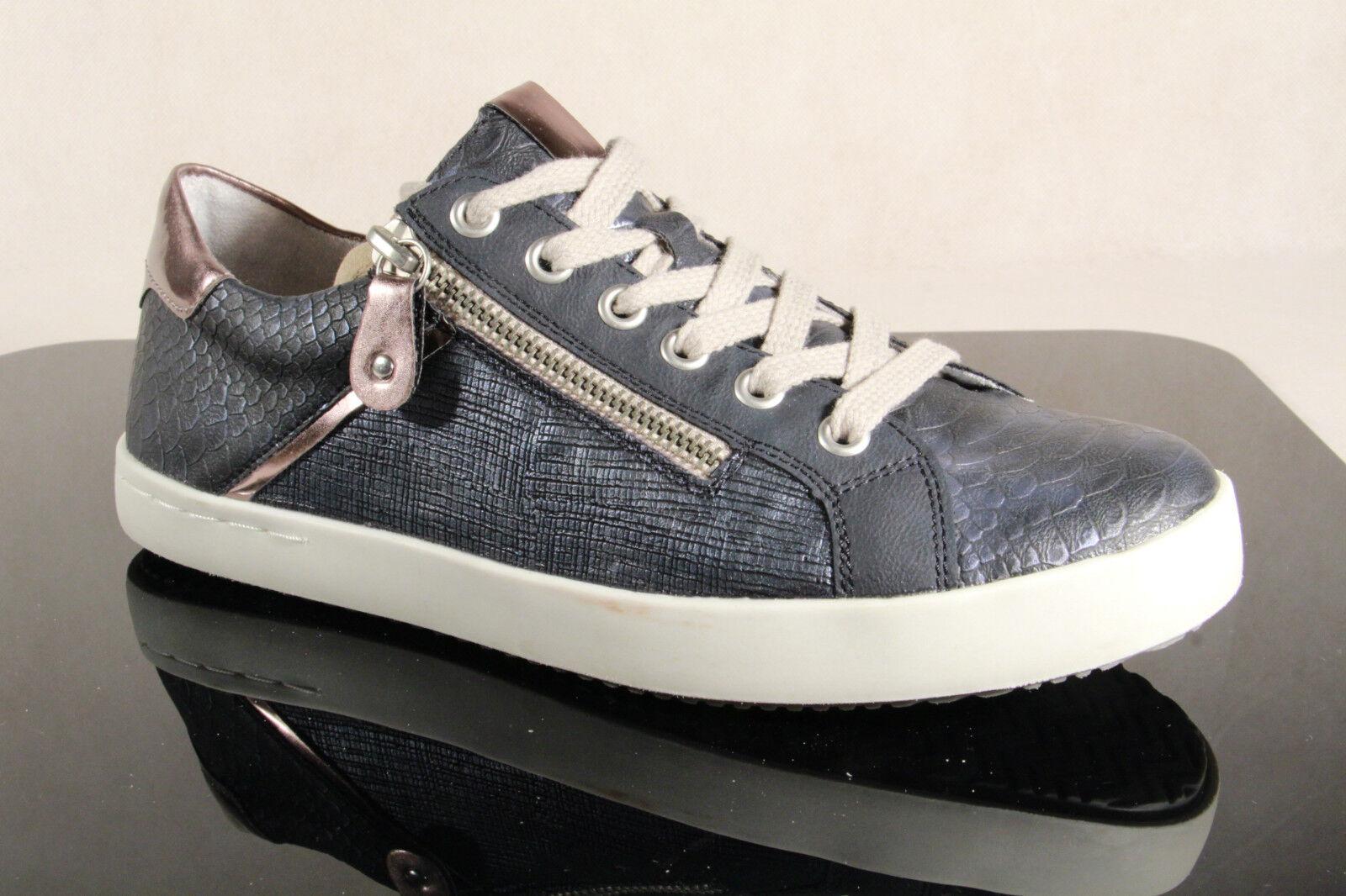Zapatos casuales salvajes Descuento por tiempo limitado Remonte Schnürschuhe D5201 Sneakers Halbschuhe D5201 Schnürschuhe blau  NEU! c03fde