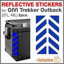 Adesivi Rifrangenti Compatibili Con Bauletto Givi Trekker Outback 42-58 Lt