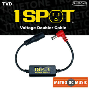 Truetone-TVD-Pedal-Voltage-Doubler-Cable-1-Spot-9-18-12-24-No-Switch-Noise-NEW