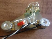 Upgrade Wiring Harness for Fender Stratocaster 500k CTS Pots 5 Way CRL Switch