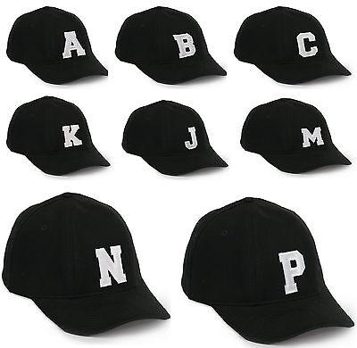 Rispettoso I Bambini Scuola Berretto Da Baseball Boy Girl Regolabile Snapback Kids Cappello Nero Lettera-mostra Il Titolo Originale