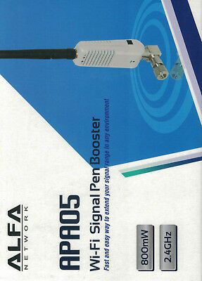 Home Networking & Connectivity Boosters, Extenders & Antennas Alfa 800mw Pen Booster Amplifier Wireless Wi-fi Apa05 Boost Your Router Signal Lustrous