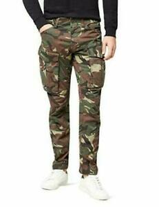 G-STAR-RAW-Herren-Rovic-3D-Tapered-Hose-33-34-Camouflage