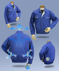 Air-conditioning-Work-Jacket-Only-garment-No-fan-No-batteries-box-For-Kuchofuku