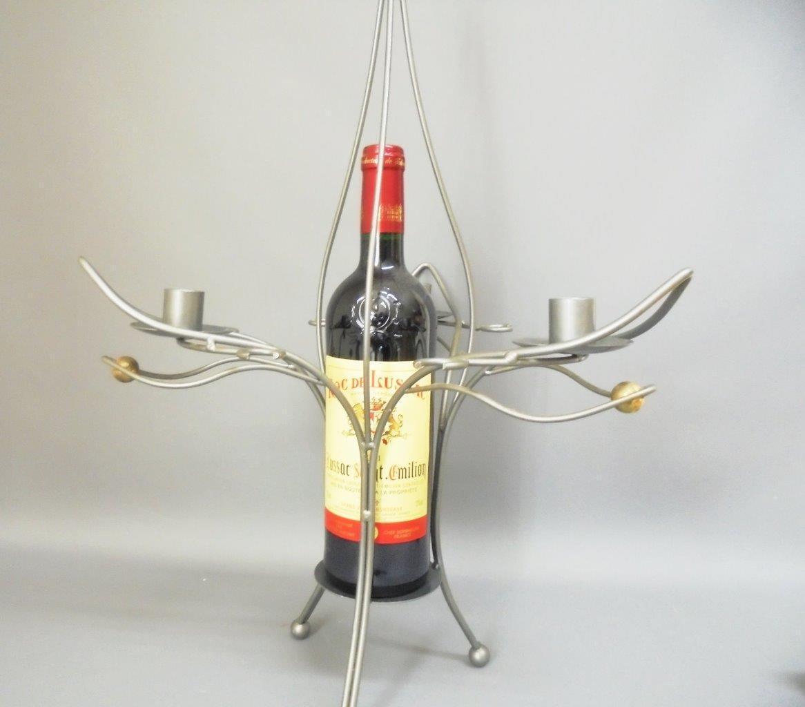 UNIQUE CREATEUR Wine Holder and Centrepiece