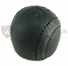 New & genuine Alfa Romeo 145 146 166 GTV & Spider black leather gear knob