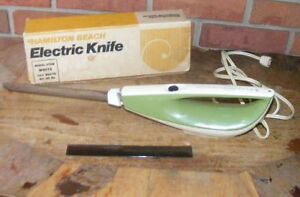 Vintage Hamilton Beach Scovill Green Electric Carving