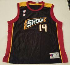 Vintage Champion WNBA Jersey JENNIFER AZZI  #8 DETROIT SHOCK Size Large