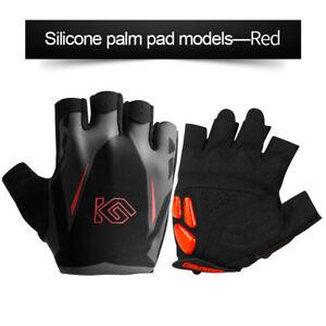 Cycling-Bike-Half-Finger-gloves-Sports-Gel-Padded-Anti-Slip-Short-Finger-Mitts