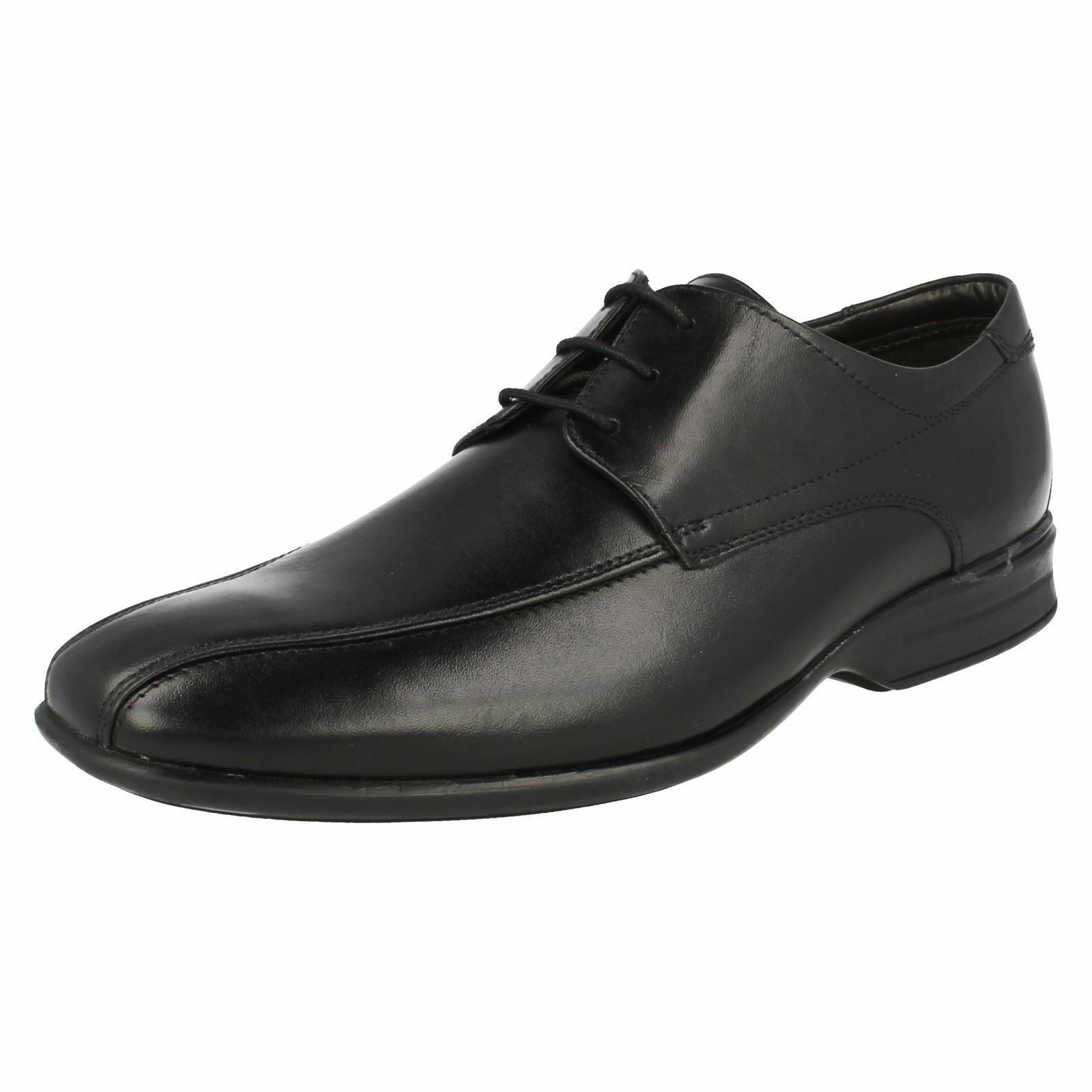 Mens Black Leather Lace Up Clarks Shoes Sizes 7 - 12 G Fitting Gadwell over