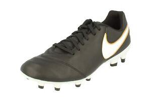 best sneakers aafd6 093be La imagen se está cargando Nike-Tiempo-Genio-II-Cuero-Fg-Botas-Futbol-