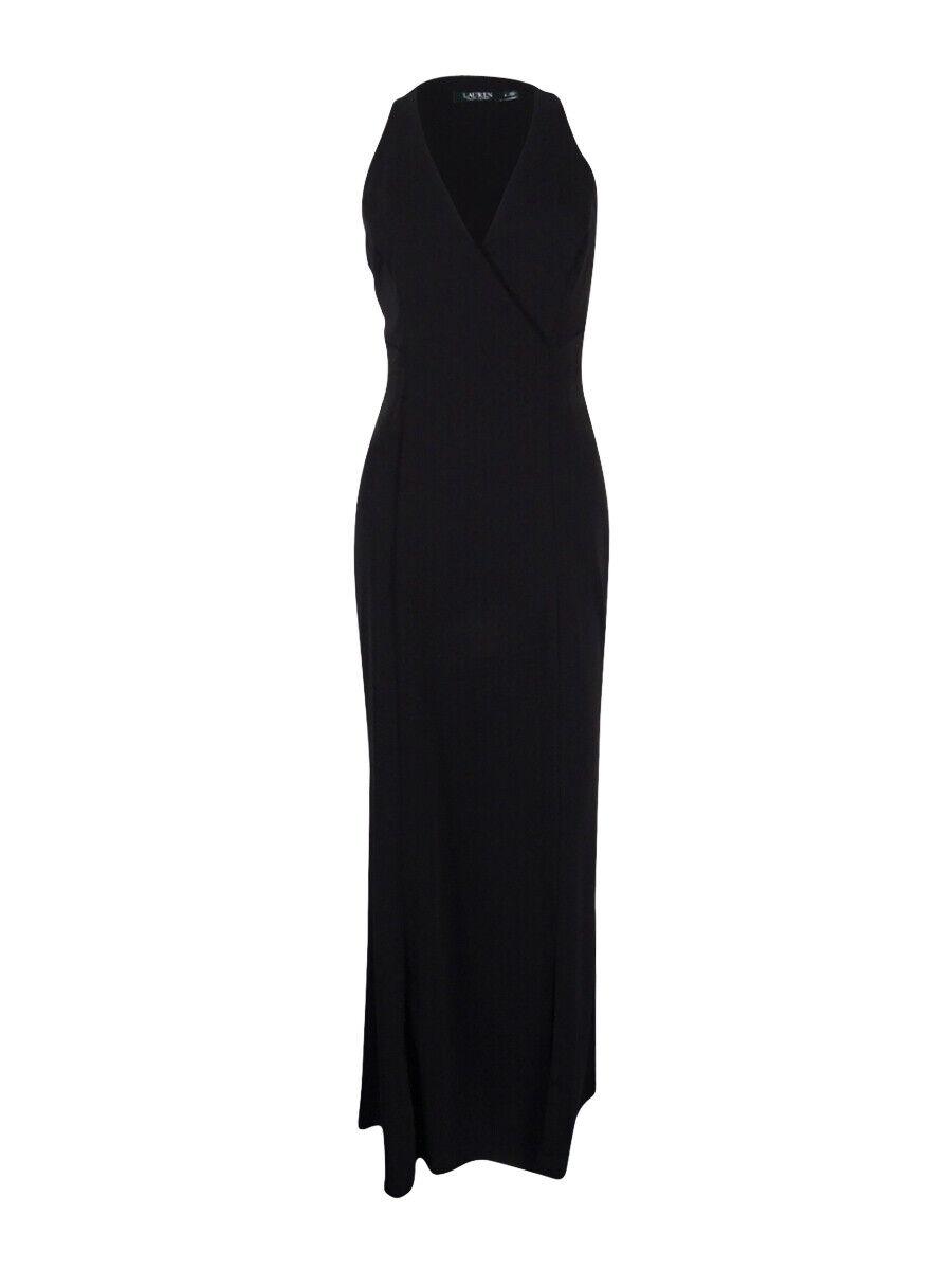 Lauren Ralph Lauren Woherrar Stretch -Crepe Gown