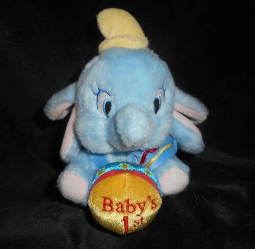 Stofftiere 6  Disney Store Dumbo Fliegend ELEFANT Baby's 1st Ball Plüschtier Spielzeug