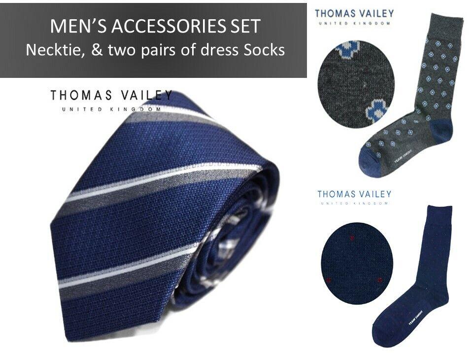 men's gift accessory set necktie, dress socks, pocket square