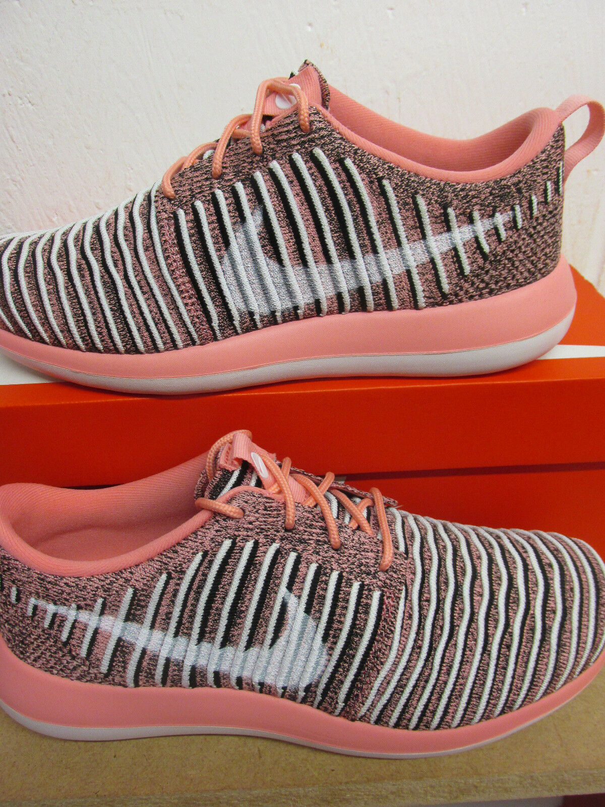 Nike Womens Roshe Two Flyknit Running Trainers Trainers Trainers 844929 801 Sneakers shoes caddef