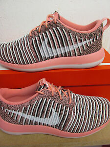 Image is loading Nike-Womens-Roshe-Two-Flyknit-Running-Trainers-844929- 6c22e5f21b
