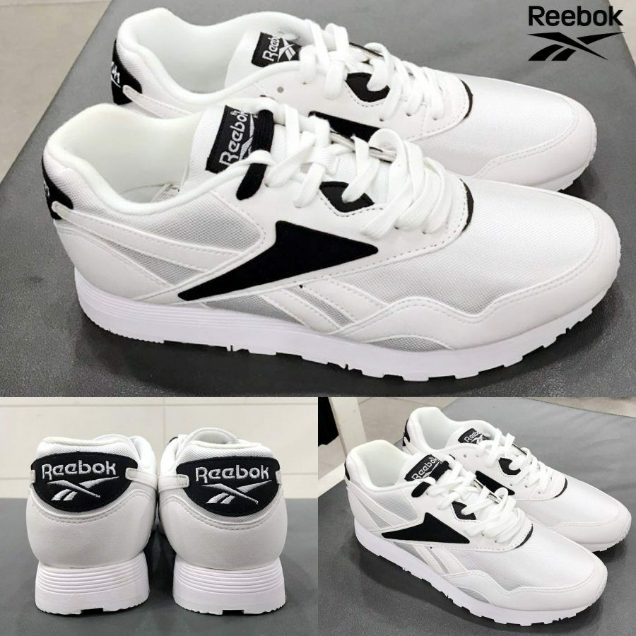Reebok Classic RAPIDE WL Casual Running shoes  BS6681 White SZ 4-12.5