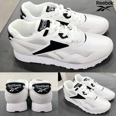 Reebok Classic RAPIDE WL Casual Running Shoes SNEAKERS Bs6681 White Women s  Sz 6 5a9ae6e98