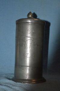 Sonstige Krug Zinn Antik Um 1750 Bierkrug Antiquitäten & Kunst Bierseidel Bierhumpen 25 Cm Am & Bergbau Mit Einem LangjäHrigen Ruf
