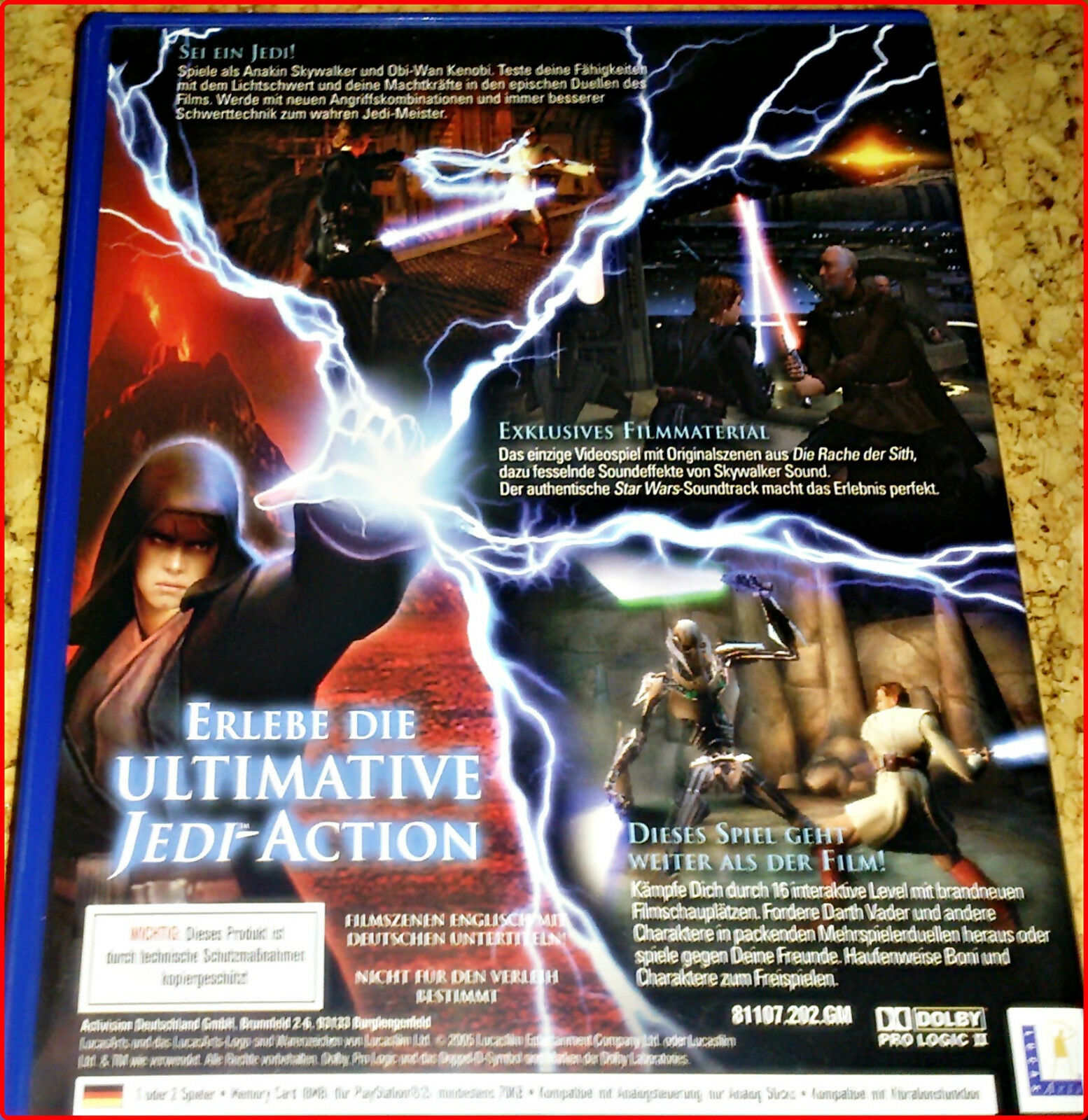 PS2 3 STAR WARS GAMES BOUNDLE: BATTLEFRONT + - Avis StarWars