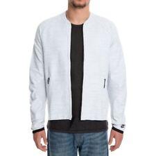 item 2 Nike Sportswear Tech Knit Mens Bomber Jacket White Grey Size L  832178 100 -Nike Sportswear Tech Knit Mens Bomber Jacket White Grey Size L  832178 100 c9343aa18