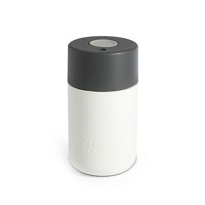 NEW Frank Green smart cup in white, titanium & cool grey (multiple sizes) by Unt
