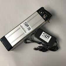 15AH 48V Battery Li-ion Battery Aluminum Case BMS 3A Charger Rechargeable E Bike