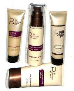 Rx-for-Brown-Skin-int-Daily-brightening-cleanser-exfoliating-texture-repair