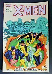 X-Men-First-to-Last-Yost-Median-Talajic-Marvel-TPB-2011-Free-Shipping