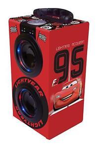 Disney-Cars-Torre-Sonido-Portatil-Y-Luminosa-con-Bluetooth-Rojo-Lexibook