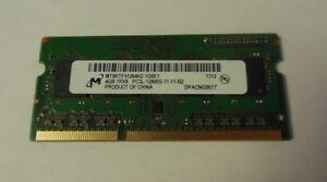 Micron 8GB 2x4GB PC3L-12800 DDR3 Laptop Memory Ram MT8KTF51264HZ-1G6E1