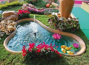 Laghetto guadalupa bacino laghetto da giardino fontana for Fontana per laghetto