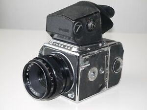Kiev 88 Russische Sowjetische Hasselblad Copy 6x6 Kamera mit Vega 12b