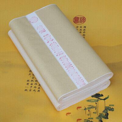 35 JAPANESE BRUSH WRITING PAINTING WHITE RICE XUAN PAPER CRAFT CHINESE STUDENT