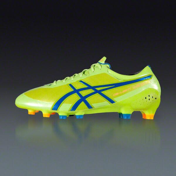 ASICS DS Light XFly MS Men's Firm Ground Soccer scarpe 6.2 oz  185 NEW US 10 D