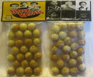 2 Bags Of Gililgans Island TV Show Promo Marbles