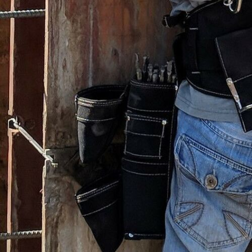 Gatorback B302 Foundation Tie Pouch Extra-Deep Main Pocket w// 2 outer pockets