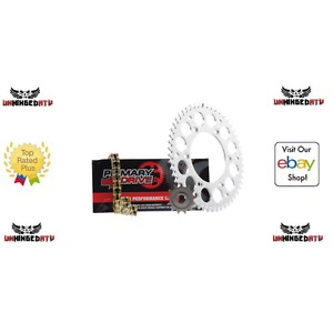 Primary Drive Steel Kit /& Gold X-Ring Chain Can-Am DS450X 2008
