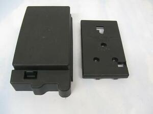 gmc envoy trailblazer v6 4 2 fuse relay box lid 2pc cover set 2002 2009 oem ebay