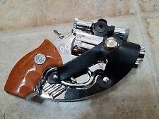 "Men's Gun Pistol Fashion Belt Buckle + Lighter + Laser 5X3"" great for a gift.."