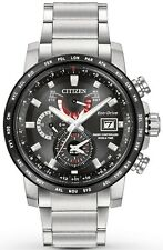 Citizen Eco-Drive World Time A-T Mens Watch AT9071-58E