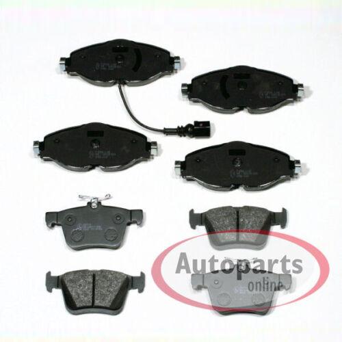 Seat Leon Bremsbeläge Bremsklötze Bremsen für vorne hinten 5F