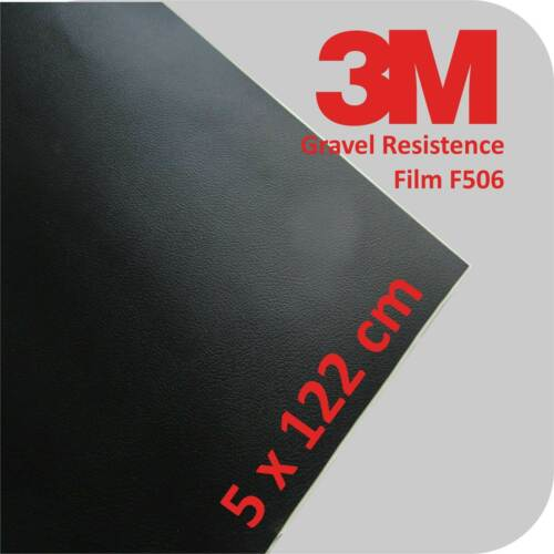 3M Gravel Film F506 Lackschutzfolie schwarz Steinschlag schutzfolie 5 x 122 cm