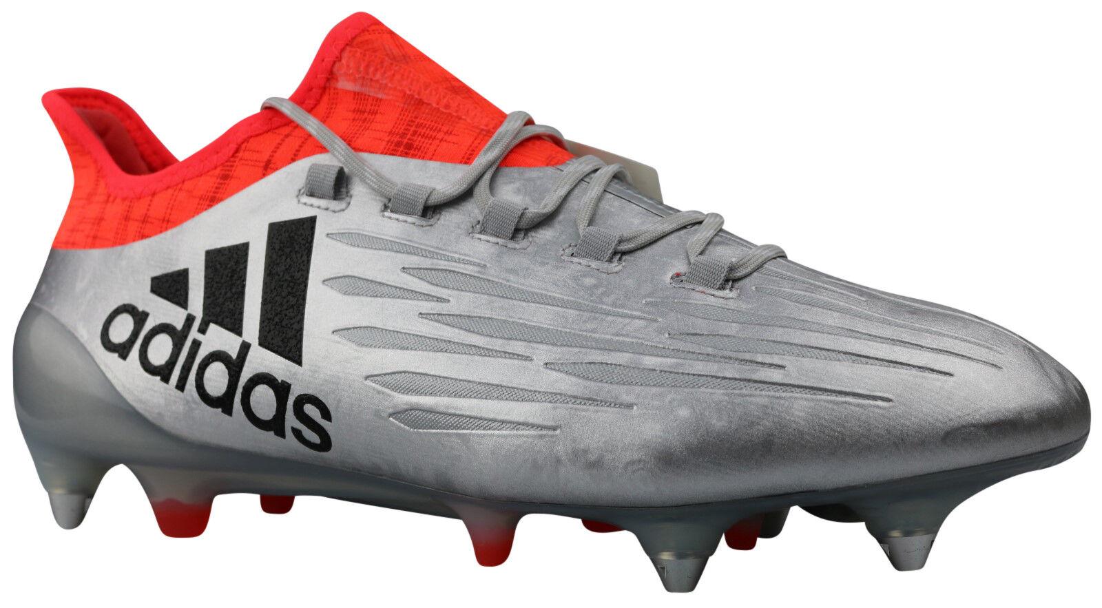 Adidas X 16.1 SG Herren Fußballschuhe S81957 Stollen silber Gr. 42 NEU & OVP