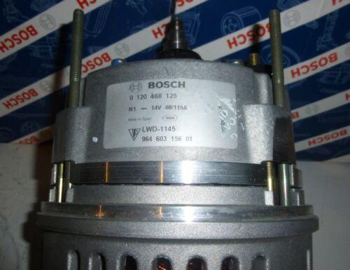 Neuteil original Bosch 115A 0120468125, 14V Lichtmaschine fr ...