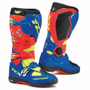 Stivali da cross TCX Boots COMP EVO MICHELIN BLU REALE